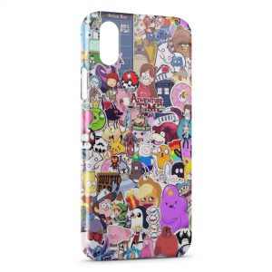 Coque iPhone X & XS Personnages Cartoons