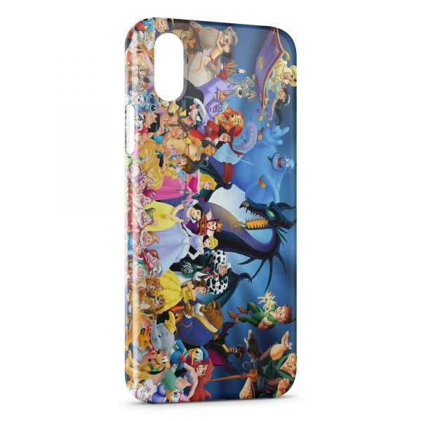 coque iphone x max disney