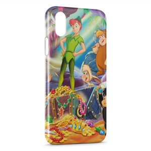 Coque iPhone X & XS Peter Pan