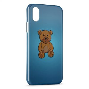 Coque iPhone X & XS Petit Ourson