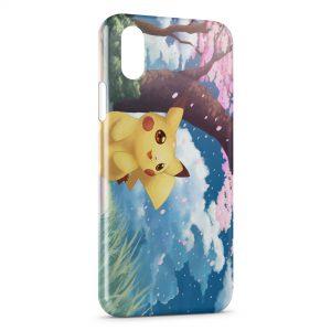 Coque iPhone X & XS Pikachu 8