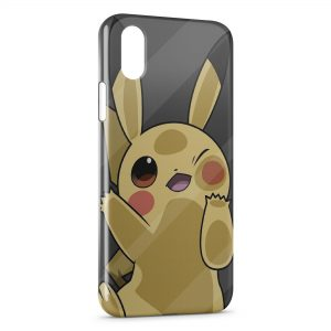 Coque iPhone X & XS Pikachu Cute Pokemon 22