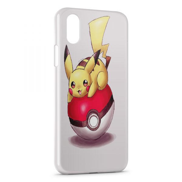 coque iphone x pikachu