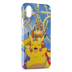 Coque iPhone X & XS Pikachu Pokemon 2