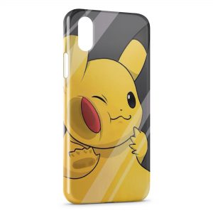 Coque iPhone X & XS Pikachu Pokemon 3