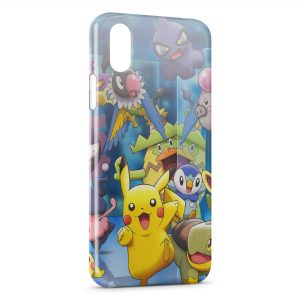 Coque iPhone X & XS Pikachu Pokemon Graphic 2