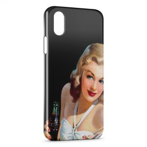Coque iPhone X & XS Pin up Painted 3