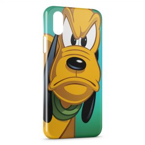 Coque iPhone X & XS Pluto Donald 23