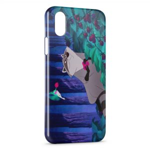 Coque iPhone X & XS Pocahontas Meeko
