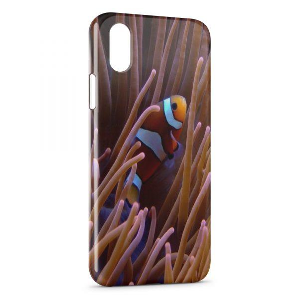 Coque iPhone X & XS Poisson Nemo