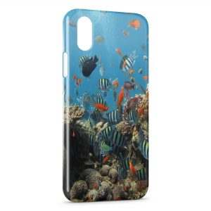 Coque iPhone X & XS Poissons 2