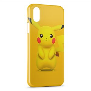 Coque iPhone X & XS Pokemon Pikachu 22