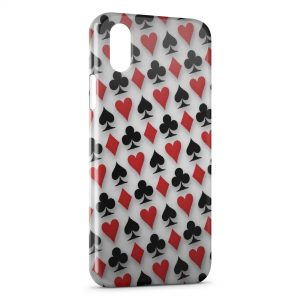 Coque iPhone X & XS Poker Cartes AS