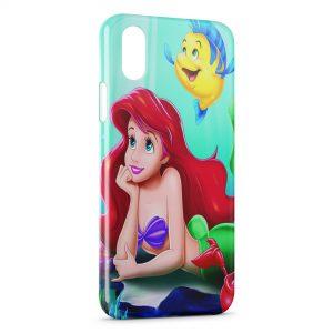 Coque iPhone X & XS Polochon et La Petite Sirène 3