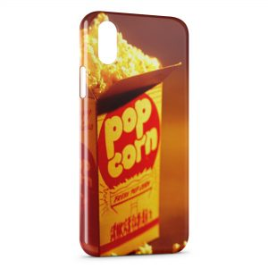 Coque iPhone X & XS PopCorn Time