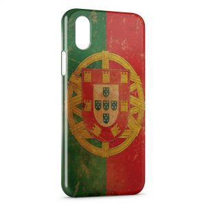 Coque iPhone X & XS Portugal Drapeau 4