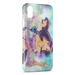 Coque iPhone X & XS Princesse Jasmine Aladdin