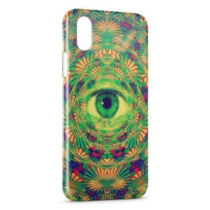 Coque iPhone X & XS Psychedelic Eye