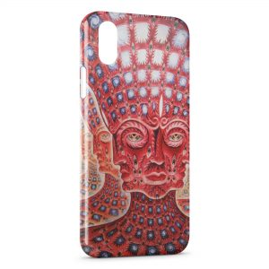 Coque iPhone X & XS Psychedelic Style 4