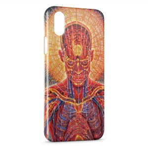 Coque iPhone X & XS Psychedelic Style 5