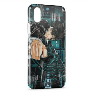 Coque iPhone X & XS Psycho-Pass Manga Animé