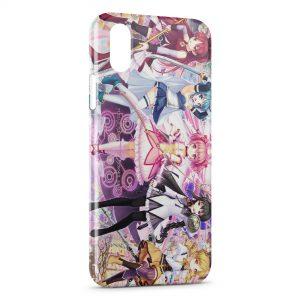Coque iPhone X & XS Puella Magi Madoka Magica Manga 2