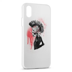 Coque iPhone X & XS Punk is dark