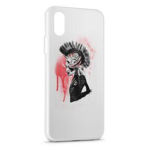 Coque iPhone X & XS Punk is dark