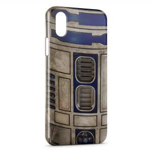 Coque iPhone X & XS R2D2 Star Wars