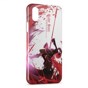 Coque iPhone X & XS RWBY Manga