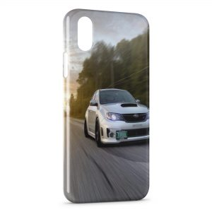 Coque iPhone X & XS Racing Turbo