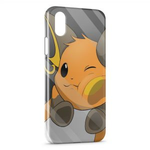 Coque iPhone X & XS Raichu Glace Vitre Pokemon