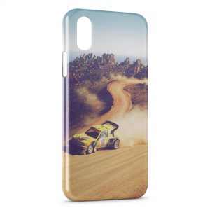 Coque iPhone X & XS Rally Racing Peugeot 205
