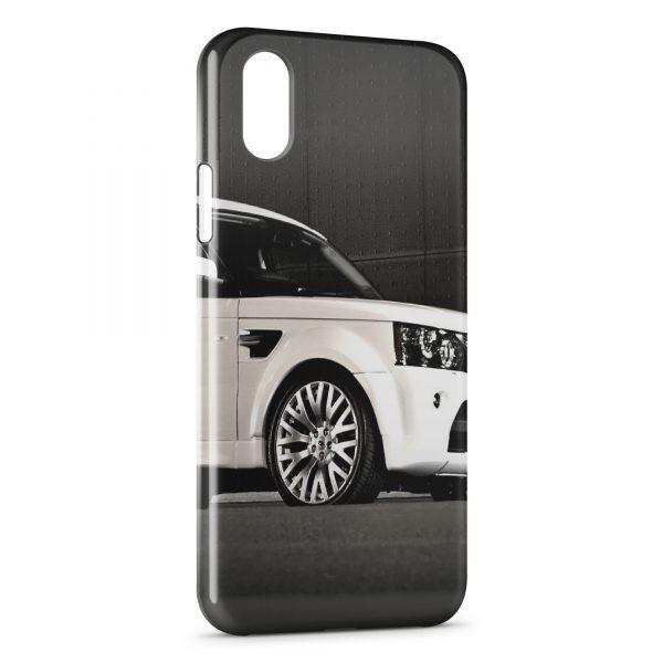 the best attitude ada0a 48fde Coque iPhone X & XS Range Rover voiture