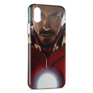 Coque iPhone X & XS Real Iron Man