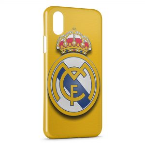 Coque iPhone X & XS Real Madrid Football 11