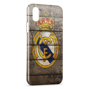 Coque iPhone X & XS Real Madrid Football 13