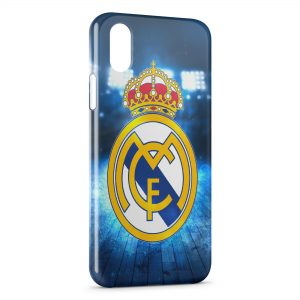 Coque iPhone X & XS Real Madrid Football 14