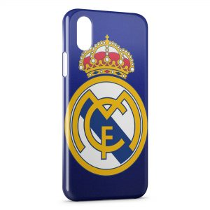 Coque iPhone X & XS Real Madrid Football 6b