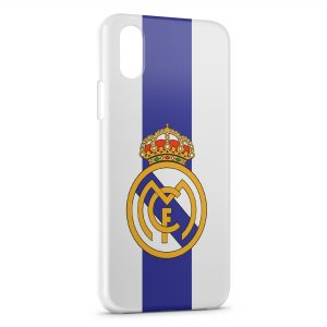 Coque iPhone X & XS Real Madrid Football 7