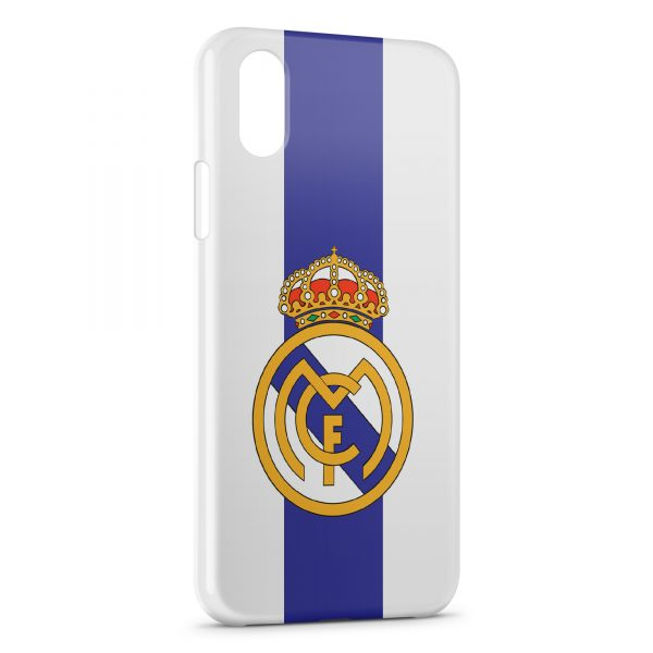 iphone x coque real madrid