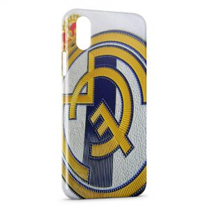 Coque iPhone X & XS Real Madrid Football Equipe 3
