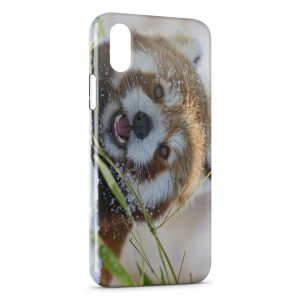 Coque iPhone X & XS Red panda