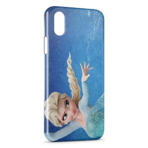 Coque iPhone X & XS Reine des neiges Elsa