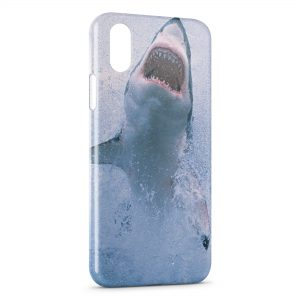 Coque iPhone X & XS Requin