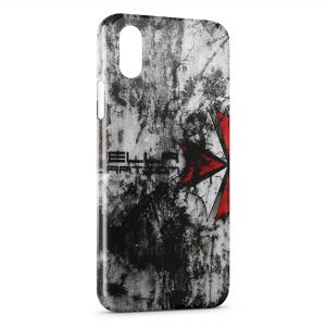 Coque iPhone X & XS Resident Evil Jeu 4
