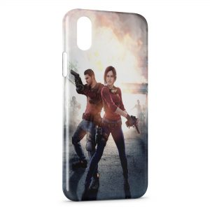 Coque iPhone X & XS Resident Evil Jeu 5
