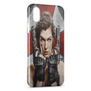 Coque iPhone X & XS Resident Evil Jeu 6