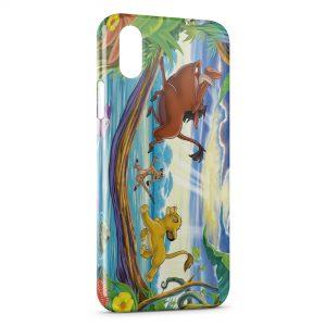 Coque iPhone X & XS Roi Lion Simba 2