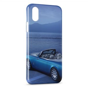 Coque iPhone X & XS Rolls Royce Phantom Voiture